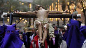 28/03/2010 ALICANTE PROCESION DE LA HERMANDAD CRISTO DEL HALLAZGO FOTO RAFA MOLINA