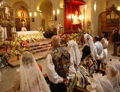 Misa Oficial de Hogueras presidida por el Sr. Obispo de la Diócesis